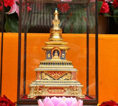 世界和平吉祥宝塔在北京广化寺